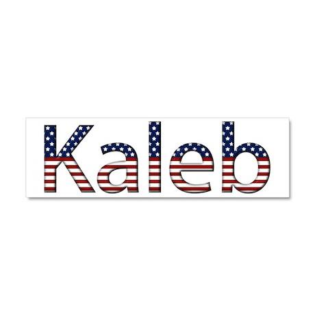 Kaleb Stars and Stripes 10x3 Car Magnet