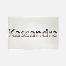 Kassandra Stars and Stripes Rectangle Magnet