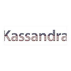 Kassandra Stars and Stripes 42x14 Wall Peel