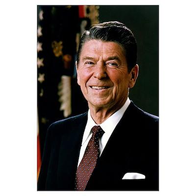 """Reagan Portrait , 14""""x10&qu Poster"""