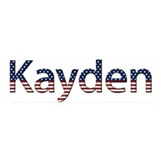 Kayden Stars and Stripes 42x14 Wall Peel