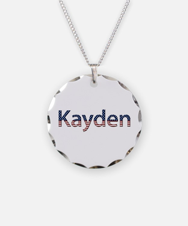 Kayden Stars and Stripes Necklace