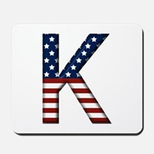 K Stars and Stripes Mousepad