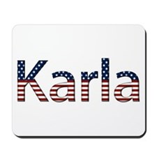 Karla Stars and Stripes Mousepad