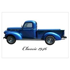 1946 GMC Pickup Canvas Art