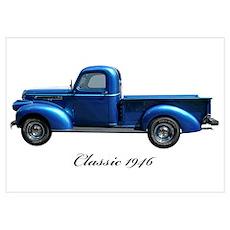 1946 GMC Pickup Poster