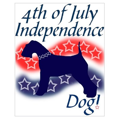 Independence Terrier Poster