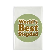 World's Best Stepdad Rectangle Magnet