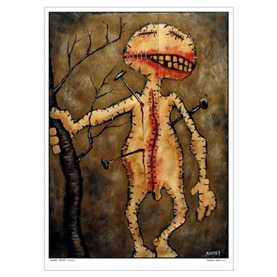 "Angry Johnny ""Voodoo Town #11"" Large Poster"