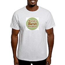 World's Best Stepdad Ash Grey T-Shirt