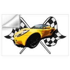 Lotus Racing Wall Decal
