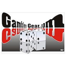 Gambrels Gear Logo Poster