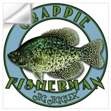 Click to view Crappie product Wall Decal