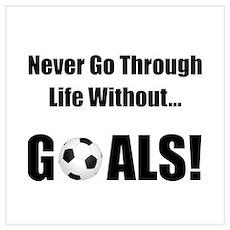 Soccer Goals Poster