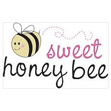 Sweet Honey Bee Poster