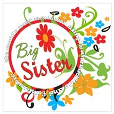 Wonderful Big Sister Framed Print