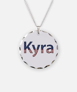 Kyra Stars and Stripes Necklace