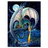 Dragon Wrapped Canvas Art