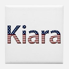 Kiara Stars and Stripes Tile Coaster