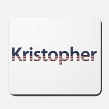 Kristopher Stars and Stripes Mousepad