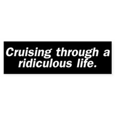 Cruising (Bumper Sticker)