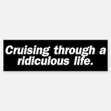 Cruising (Bumper Sticker)