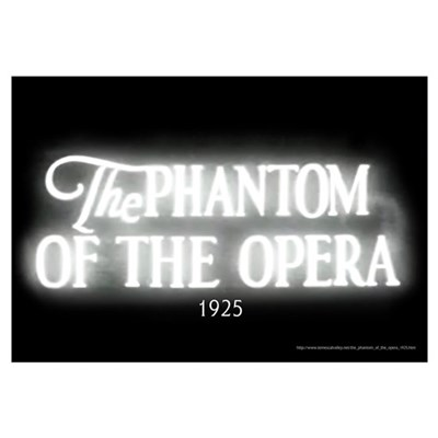 The Phantom of the Opera 1925 Framed Print