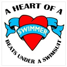 Heart of a Swimmer Poster