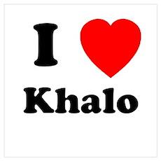 I Heart Khalo Poster