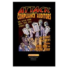 Attack of the Compliance Auditors sm Poster