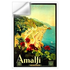 Vintage Amalfi Italy Travel Wall Decal