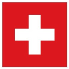 Switzerland Flag Wall Art Poster