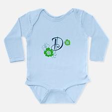 D Long Sleeve Infant Bodysuit