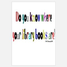 Do you know where your library books are? Mini Pos
