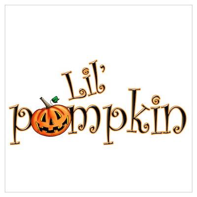 Lil' Pumpkin Poster