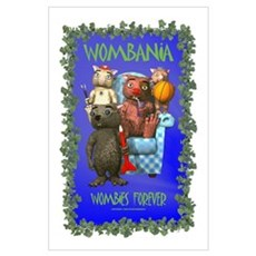 "Wombania 11"" x 17"" Poster"