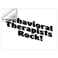 Behavioral Therapists Rock! Wall Decal