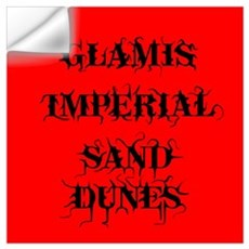 Glamis Red Wall Decal