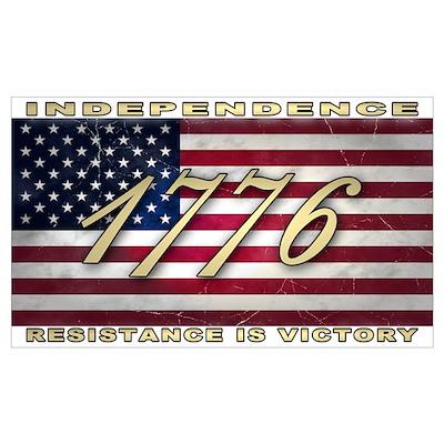 American Flag (1776) Poster