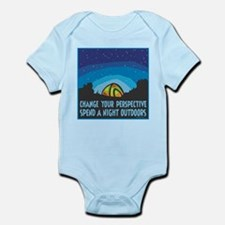 Tent Camping Infant Bodysuit