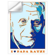 Papa Ratzi New Pope Benedict XVI Wall Decal