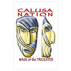Trickster Mask Poster
