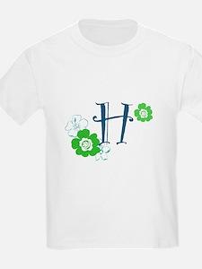 H Flowers T-Shirt