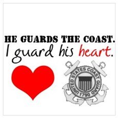 Guard His Heart Framed Print