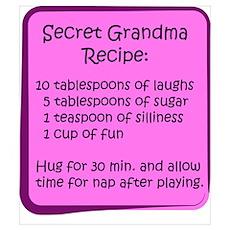 Secret Grandma Recipe Poster