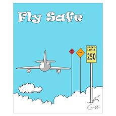 """Fly Safe"" Poster"