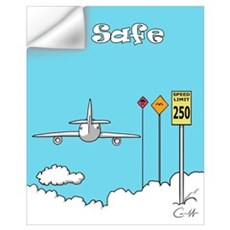 """Fly Safe"" Wall Decal"