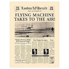 Wright Bros. Headline Poster