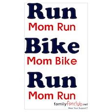 Duathlon Mom Poster