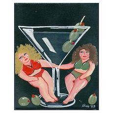 Martini Divas Poster